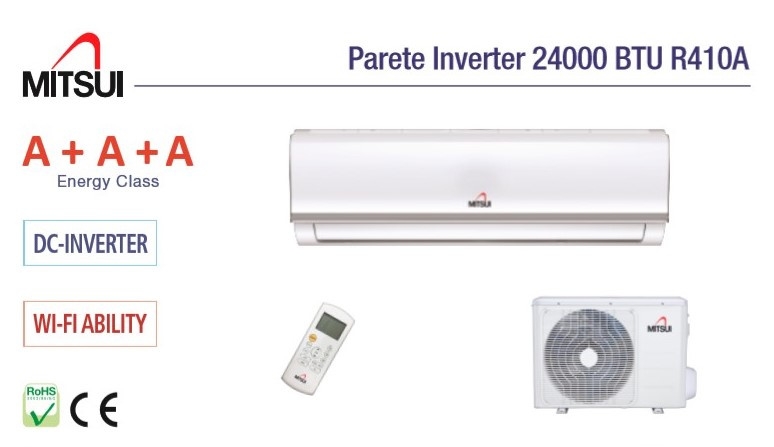 MITSUI Airco Split 24000 BTU Koelt 215 M3
