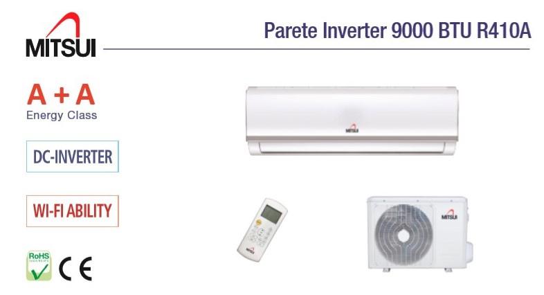 Airco split unit MITSUI 9000 BTU Koelt 80m3