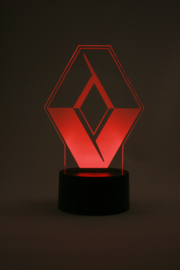 Renault logo led lamp
