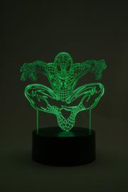 Spiderman led lamp