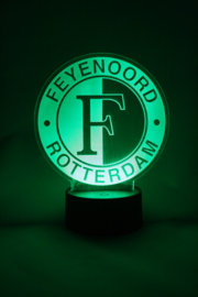 Feyenoord logo led lamp