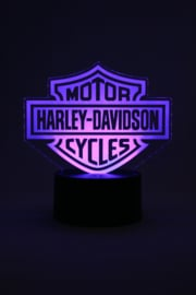Harley davidson motor cycles led lamp