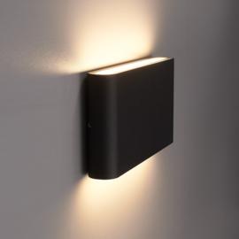 Dimbare LED Wandlamp Dallas M