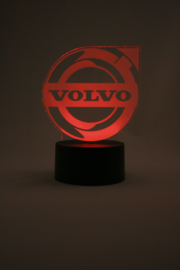 Volvo logo led lamp
