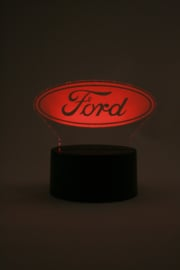 Ford logo led lamp