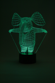 Mr. elephant led lamp