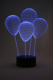 3D ballonnen led lamp