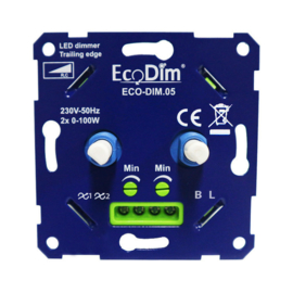 LED Duo Dimmer 2x100W