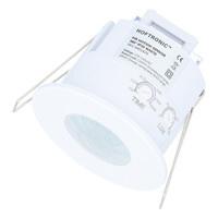 PIR bewegingssensor met schemerschakelaar 360 graden Maximaal 600 Watt IP20 inbouw kleur