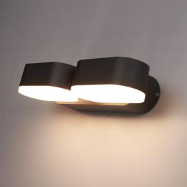 Dimbare LED Wandlamp Dayton Duo