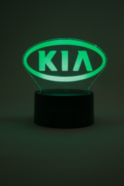 Kia logo led lamp