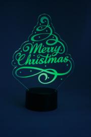 Kerstboom merry christmas