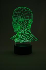 Man led lamp
