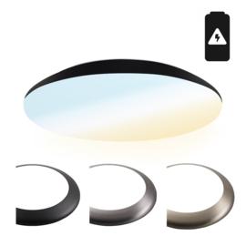 Plafondlamp/Plafonniere met nood accu IP65