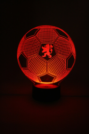 Voetbal Oranje led lamp