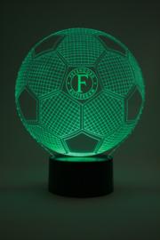 Voetbal Feyenoord led lamp