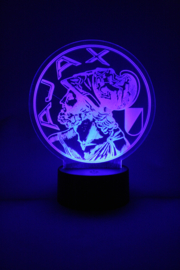 Ajax oud logo led lamp