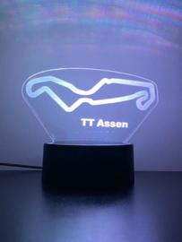 TT Assen circuit led lamp