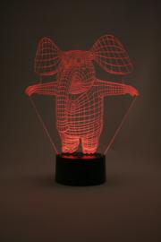 Mr. elephant led lamp