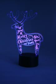 Rendier merry christmas