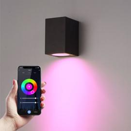 Smart WiFi LED wandlamp Marion RGBWW, IP44