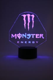 Monster energy led lam
