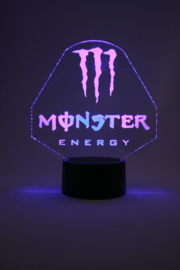 Monster energy led lamp