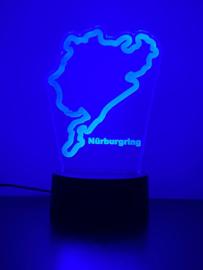 Nürburgring  circuit led lamp