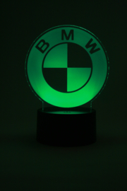 BMW logo led lamp