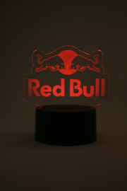 Red bull led lamp