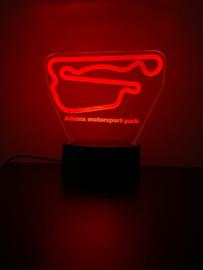 Adams motorsport park led lamp