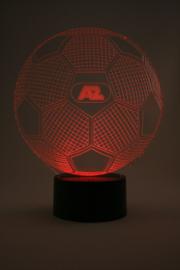 Voetbal AZ led lamp