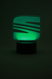 Seat logo led lamp