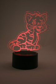 tijger led lamp
