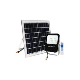LED breedstralers met zonnepaneel