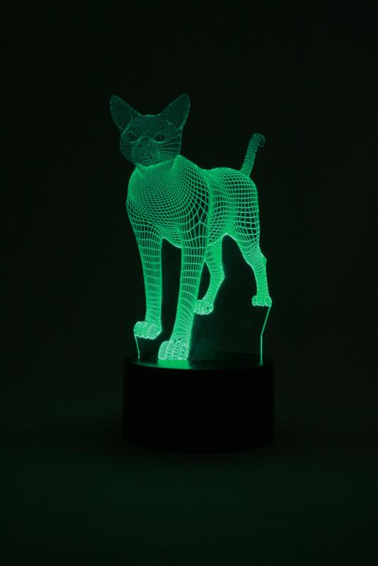 Kat led lamp