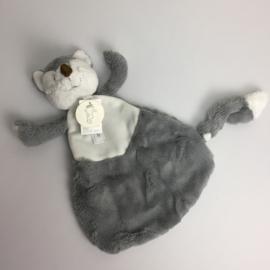 Knuffeldoekje Fox Felix (grijs)