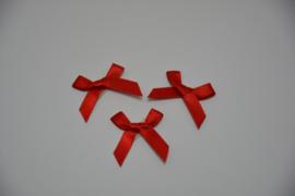 mini strikje - rood