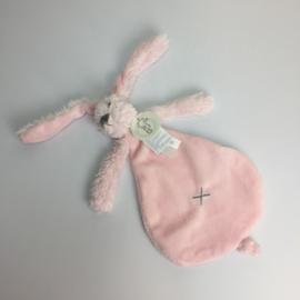 Knuffeldoekje Rabbit Richie (pink)