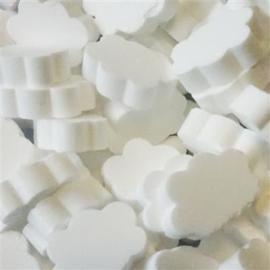 Dextrose wolkjes - wit
