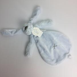 Knuffeldoekje Rabbit Richie (blue)