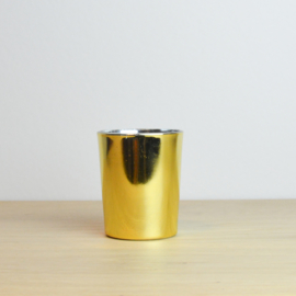 Kaars mini goud