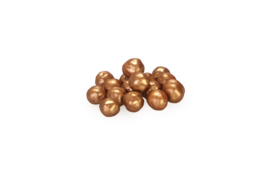 Choco choops - mini - parelmoer - koper - 500 gr