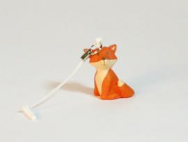 mini-sleutelhanger Vos - oranje