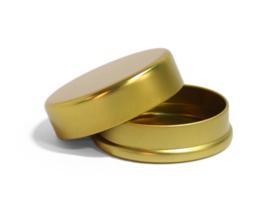 rond blik luxe - goud