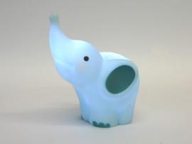 ledlamp Olifant - lichtblauw