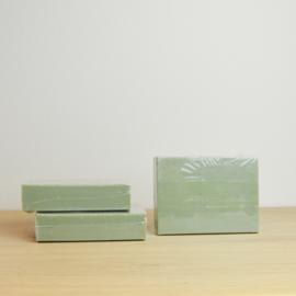 zeepblokje - eucalyptusgroen