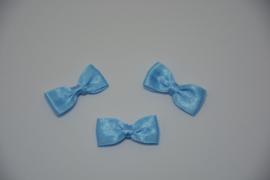 mini vlinderdasje - babyblauw