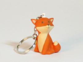Sleutelhanger Vos - oranje