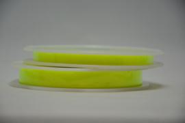 satijn lint - fluo geel